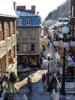 La rue du Petit Champlain